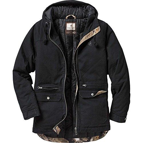 Legendary Whitetails Ladies Gravel Road Workwear Jacket Black Medium