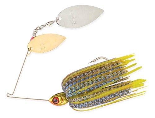 BOOYAH Vibra-Flx Spinnerbait Fishing Lure - Bluegill - 38 oz
