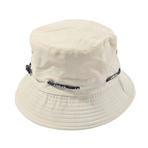 Unisex Casual Summer Fisherman Cap Cotton Bucket Hat Double Side Fishing Boonie Bush Cap Visor Sun Hat