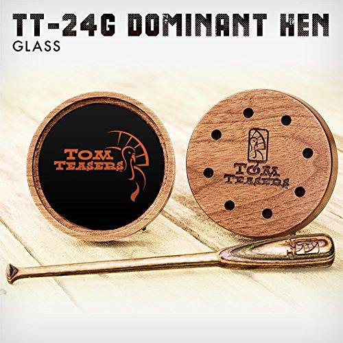 Tom Teasers Dominant Hen Glass Turkey Call