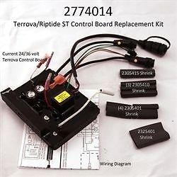 Minn Kota Terrova 24V112lb Thrust 36VRiptide ST 112lb Thrust 36V Control Board 2774014