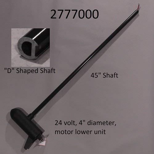Minn Kota Terrova 80lb 24V 45in Trolling Motor Shaft 2777000