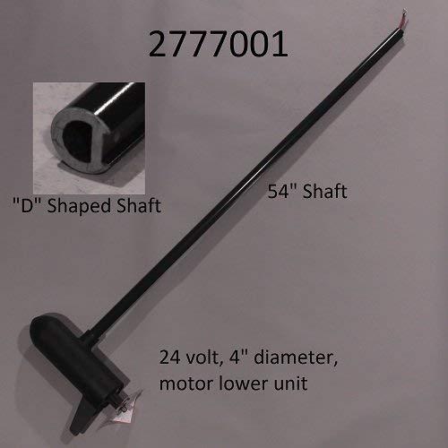 Minn Kota Terrova 80lb 24V 54in Trolling Motor Shaft 2777001