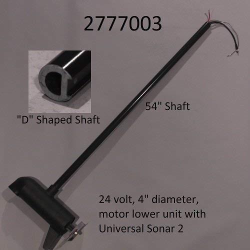 Minn Kota Terrova 80lb 24V 54in Trolling Motor Shaft with US2 Sonar 2777003