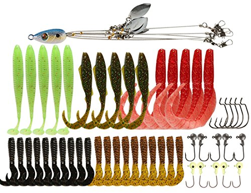 Alabama Rig Umbrella Multi-Lure 5 Arms for Stripers Fishing Bass Lures Bait Kit Trout Salmon