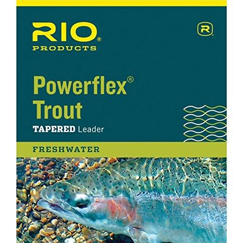 Rio Powerflex Trout Leaders 3-Pack 6x12ft