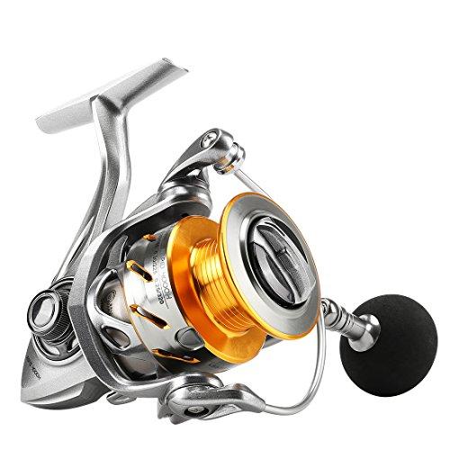 SeaKnight Rapid Saltwater Spinning Reel 621 High Speed Max Drag 33Lbs Smooth Fresh and Saltwater Fishing Reel