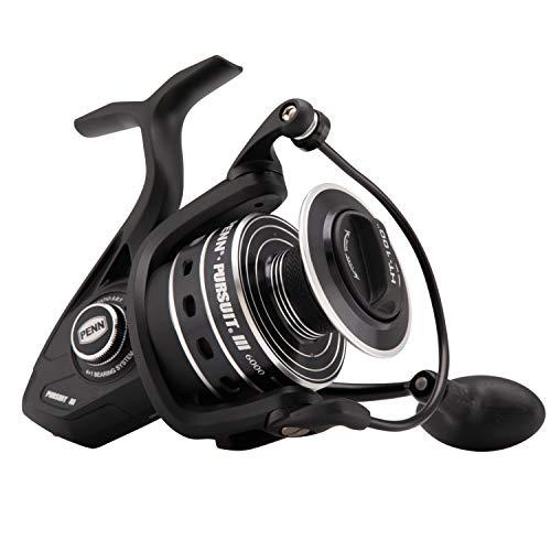 Penn Pursuit III 6000C Spinning Fishing Reel BlackSilver 6000