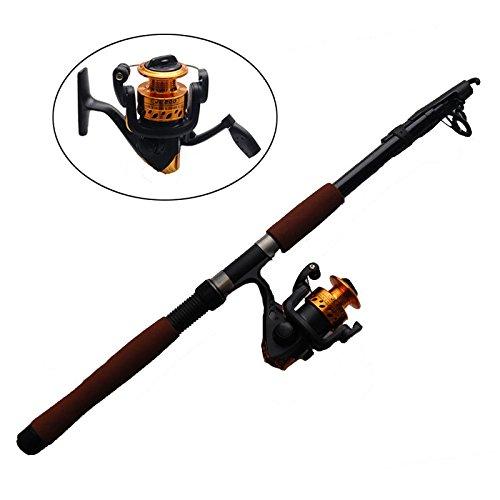 24M Telescope Fishing Rod Reel Set