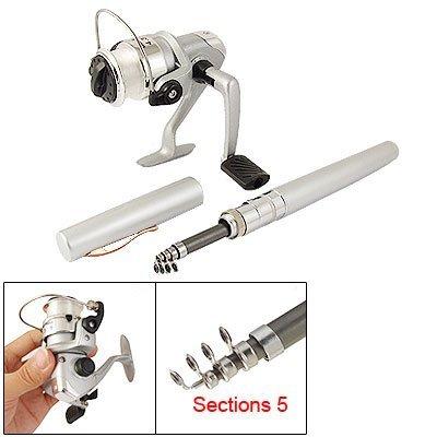 SODIALR Pocket Pen Fishing Rod  431 Spinning Reel Tackle Set
