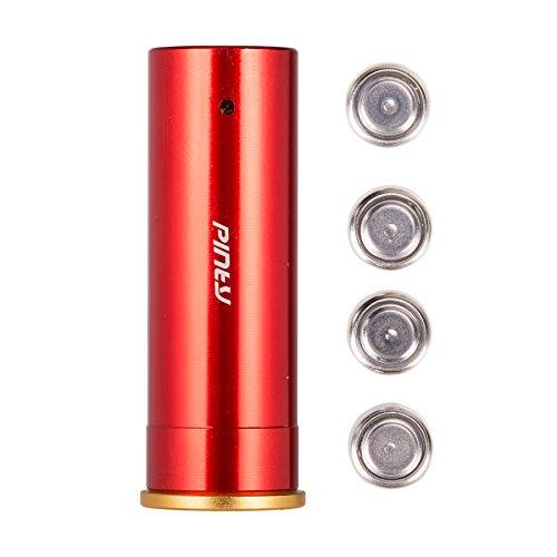 Pinty 12 GaugeGA Red Dot Laser Bore Sight Cartridge Hunting Optics Scope Boresight Kit