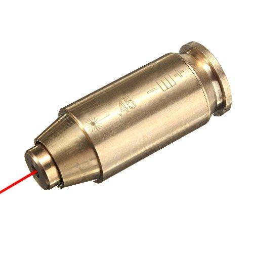 Freehawk 45 ACP BoreSightBoresighterBore SightBore Sighter 45ACP45 Boresight-Red Dot Laser Sight In-Chamber Bore SighterBrass 45 Laser
