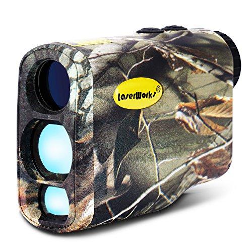 LaserWorks LW1000PRO Laser Rangefinder for Hunting GolfFog measurementWaterproofCamouflage Rangefinder
