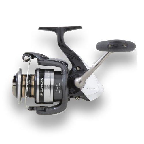 Shimano Saros Spinning Fishing Reel 8240 10200 12160 LeftRight-Hand Black