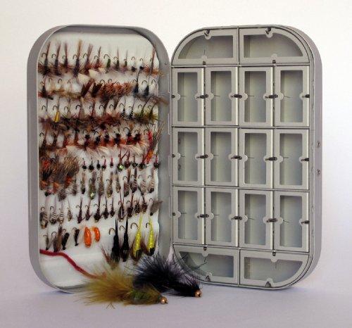 Barnsley Fly Box  100 Assorted Fly Fishing Fly Kit