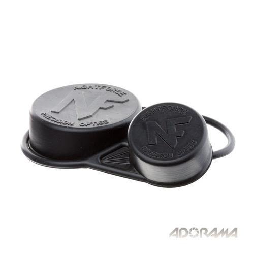 Nightforce Optics Rubber Lens Cap Set for the NXS Series Rifle Scopes Fits 56mm