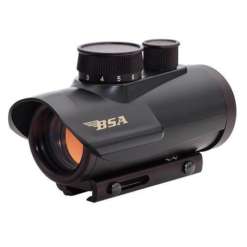 BSA Optics 30mm Matte Black Finish Red Dot Sight Riflescope