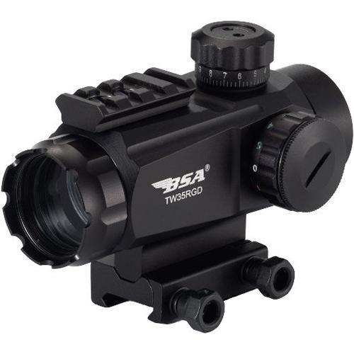 BSA Optics Tactical Weapon Illuminated Red and Green Dot Sight 35mm