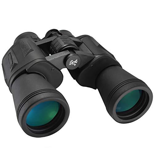 CZALBL Binoculars 20×50 Binoculars BAK4 Prism Multilayer Broadband Green Film 23MM Big Eyesight Myopia Available for Bird Watching Concert Camping Hiking