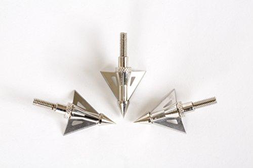 Bowtactix 100 Grain 3 Fixed Blade Broadheads 3 Pcs