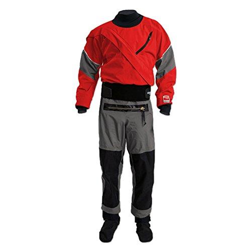 Kokatat Mens GORE-TEX Meridian Drysuit-ChiliGray-XXL