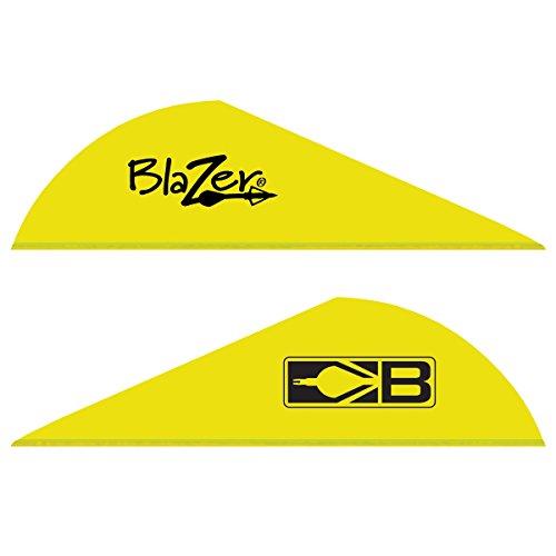 Bohning Blazer Archery Vane 100-Pack Neon Yellow