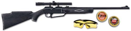 880 Powerline Air Rifle Kit Dark BrownBlack 376 Inch