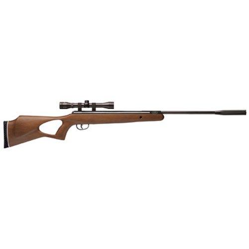 Benjamin BW8M22NP Titan NP Wood Stock Nitro Piston Hunting Air Rifle with 4x32 Scope 22-Caliber