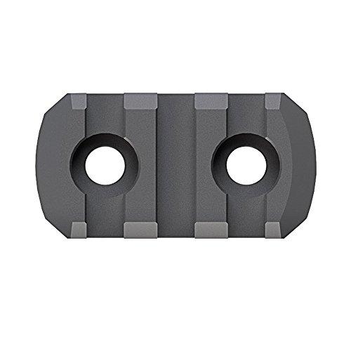 Magpul Industries 3 Slots M-LOK Rail Section Fits M-LOK Hand Guard Black