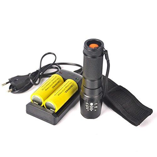 Cree led flashlight 5000 Lm Xm-l T6 LED Flashlight Torch Zoom Lamp2x26650 6800mah Battery Charger surefire Flashlights