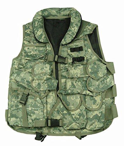 Ultimate Arms Gear ACU Digital Camouflage Tactical Vest with Soft Collar For Mauser Karabiner K98 K-98 98K K98K Rifle
