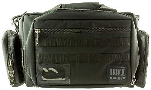 Bulldog Cases Extra Large Molle Tactical Range Bag Black X-Large