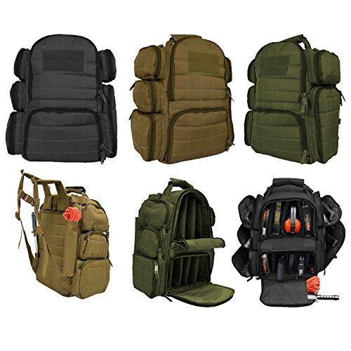 Explorer 18-Inch Tactical RangeBailoutHeavy Duty Gun Bag 14 x 10 x 9-Inch