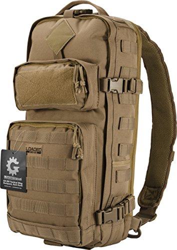 Barska Loaded Gearr GX-300 Tactical Sling Backpack Tan