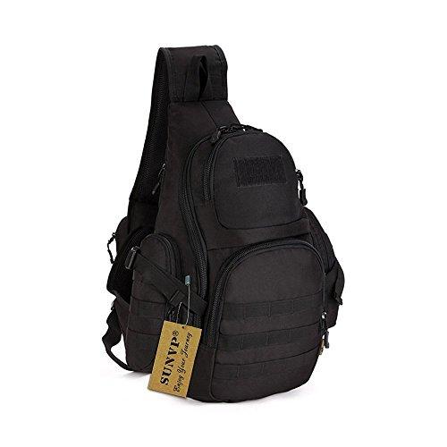 Tactical Sling Pack Backpack Military Shoulder Chest Bag by Sunvp