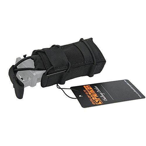 Excellent Elite Spanker Tactical Open Top Single Magazine Adjustable Mag PouchBlack
