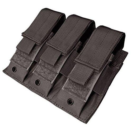 Condor MA52 Triple Pistol Mag Pouch Black