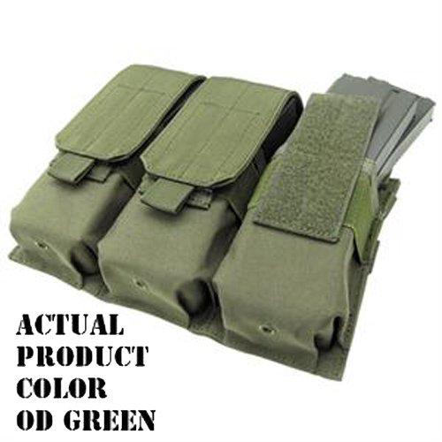 COP-MA58-001-Triple M4 Mag Pouch - Color OD Green