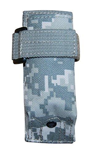 Ultimate Arms Gear ACU Digital Camo MOLLE Flashlight Pouch For Uzi Light Laser