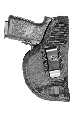Crossfire Elite GRPCLPLSRSA1M-1 Grip Clip Laser Micro Ambidextrous Semi-Auto Holster LeftRight Hand Black
