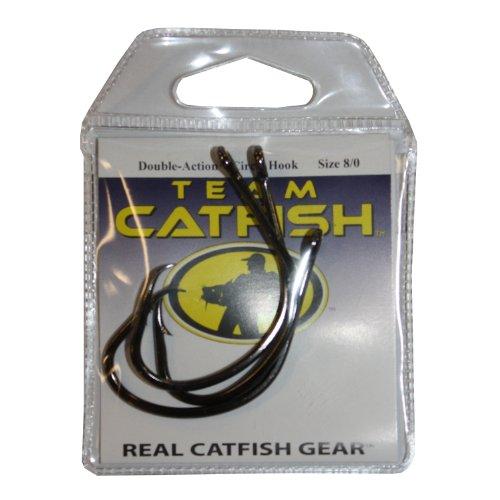 Team Catfish TC81Z80 Double Action Nickel Hook Black