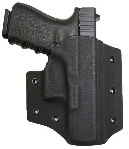 Bare Arms Black OWB Kydex Holster-Glock 192332