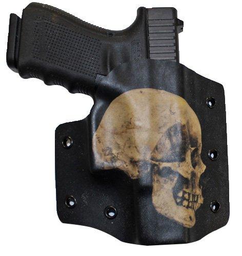 Bare Arms OWB Holster - Skull