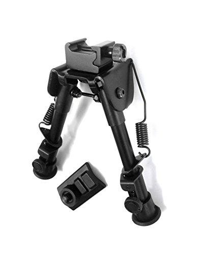 Ade Advanced Optics TCF78-1 Adjustable Tactical SWATCombat Profile Bipod Height 61-79