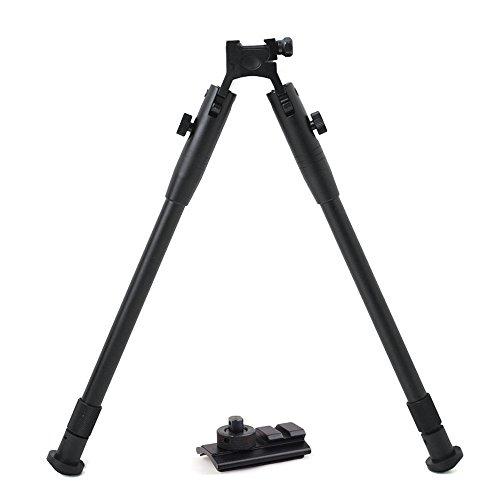 aokur Reflie Bipod 11 to 15 Adjustable Tactical Hunting Shooting Rifle Picatinny Leg Bipod with Mount Adapter