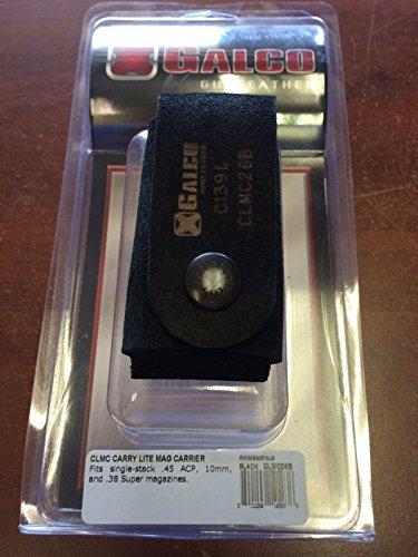 Galco CLMC26B Carry Lite Magazine Carrier Black Ambidextrous