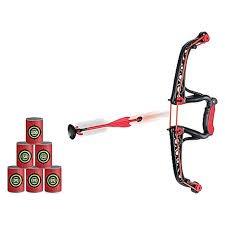 Black Series Indoor  Outdoor Archery Set with 7 piece target pack