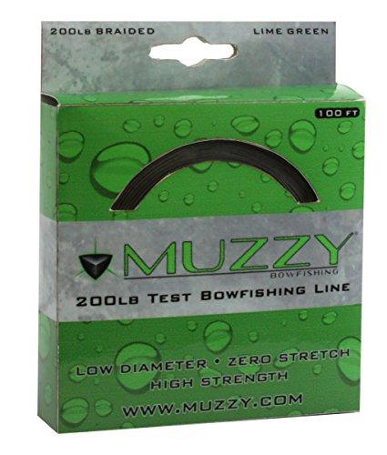 Muzzy Bowfishing Line Lime Green 200 lb100