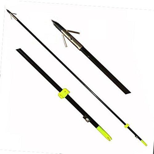 Safari Choice Bowfishing Arrows with Broadheads Pack 3 Piece 35