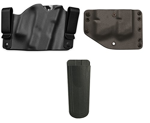 Phalanx Defense Stealth Operator TAURUS 809 Holster Multi-Fit IWB Inside The Waistband Righty Black  Twin Double Stack Magazine Holder  Ultimate Arms Gear 9mm4045 Mag Pouch